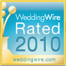 WeddingWire Rated 2010.